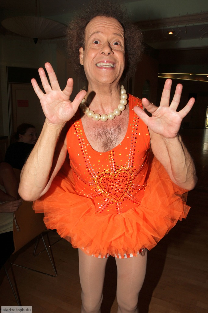 Richard Simmons Hosts His Dance Class at Simmons Studios